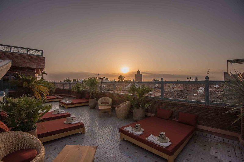 KSAR KASBAH & SPA MARRAKECH view terrasse