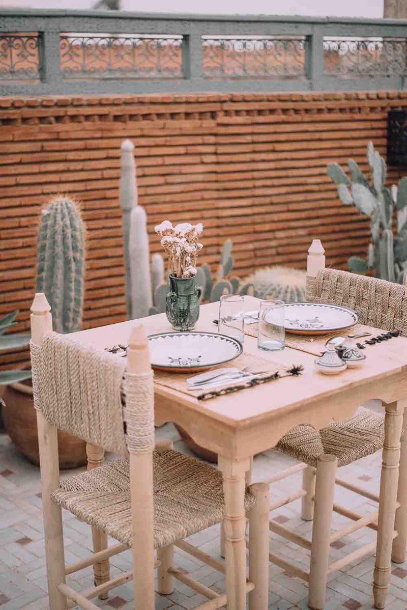 KSAR KASBAH & SPA MARRAKECH déjeuner en amoureux