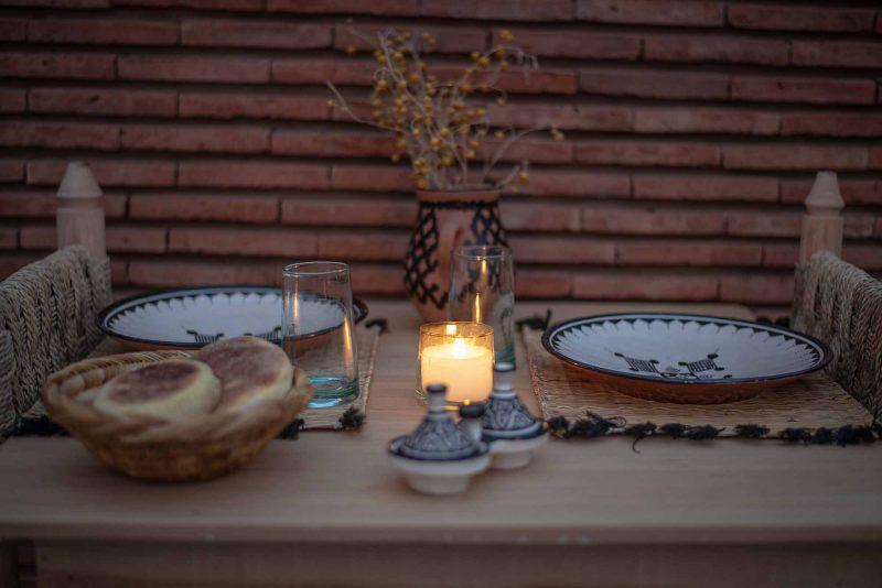 KSAR KASBAH & SPA MARRAKECH diner en amoureux