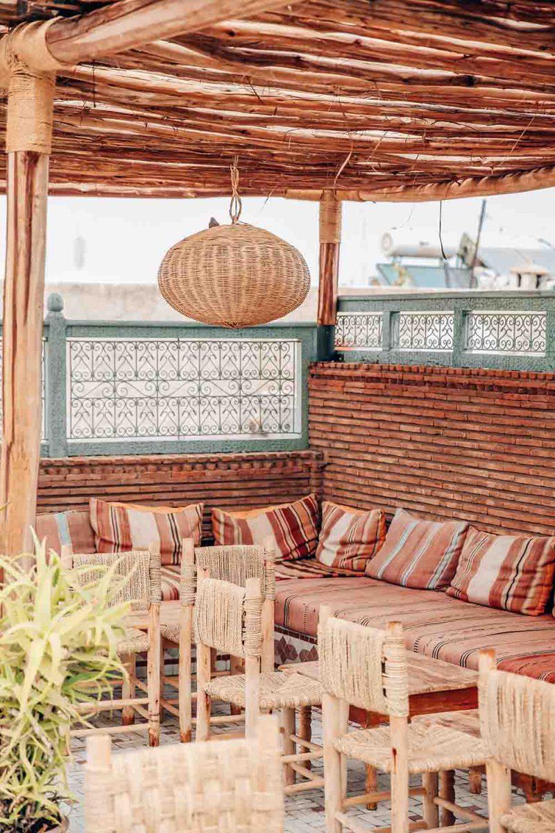 KSAR KASBAH & SPA MARRAKECH terrasse diner