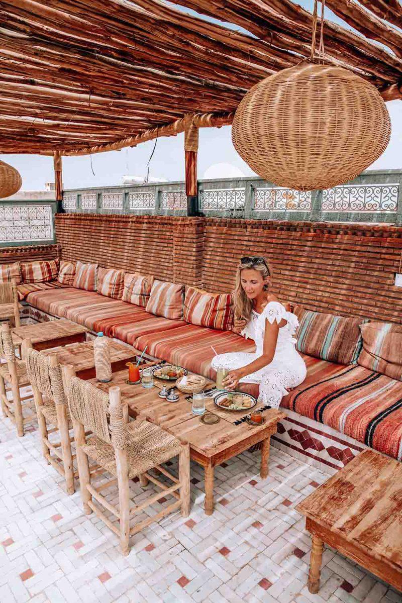 KSAR KASBAH & SPA MARRAKECH terrasse