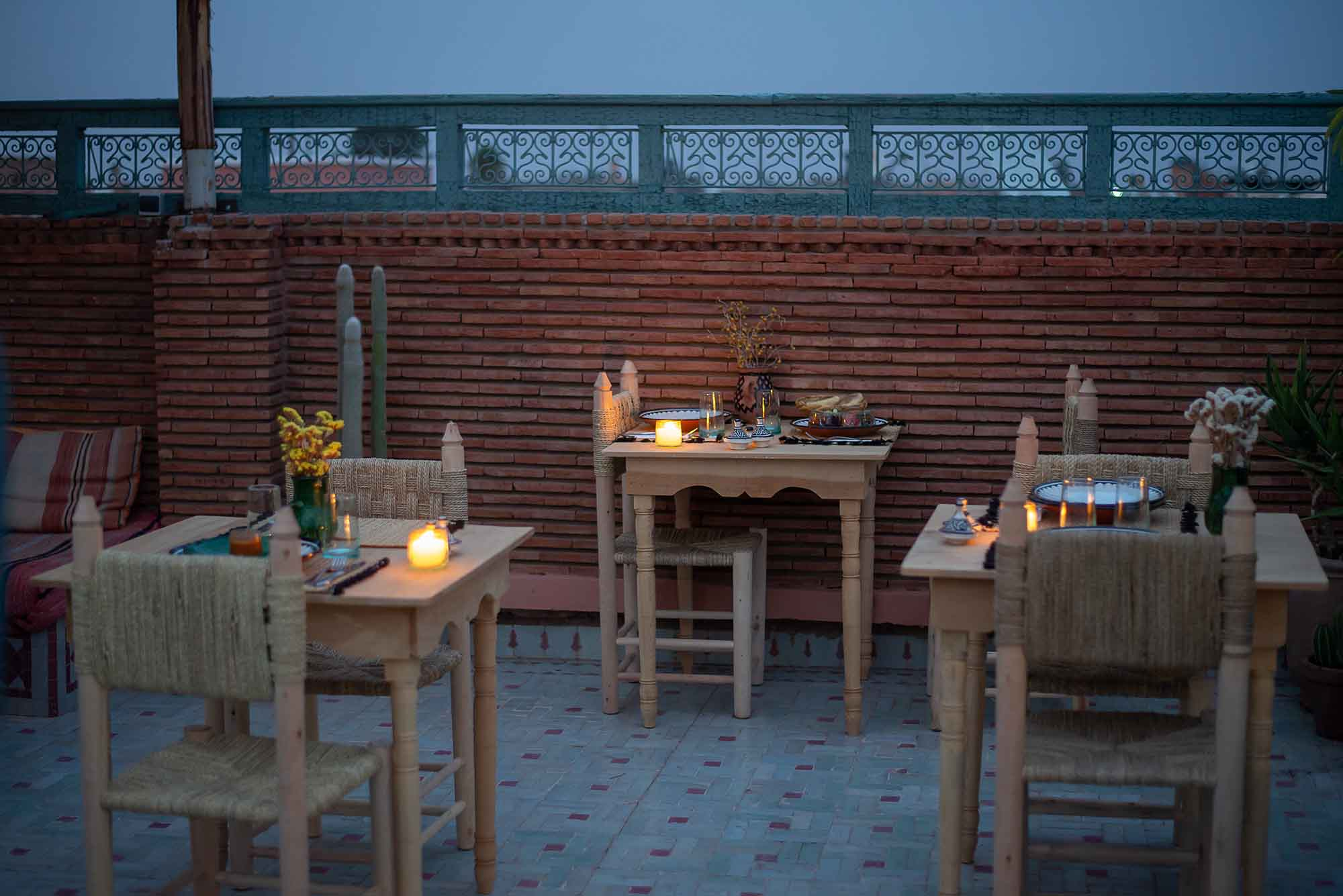 KSAR KASBAH & SPA MARRAKECH soirée diner