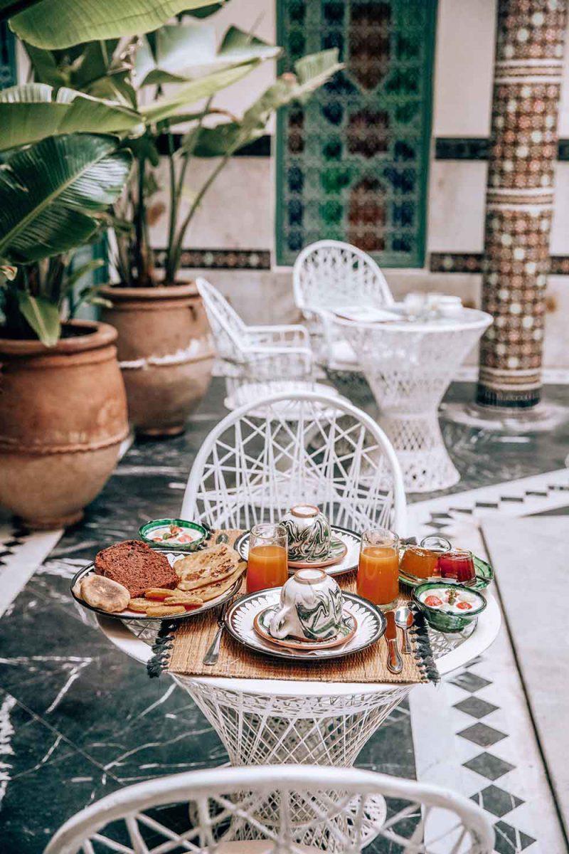 KSAR KASBAH & SPA MARRAKECH petit déjeuner