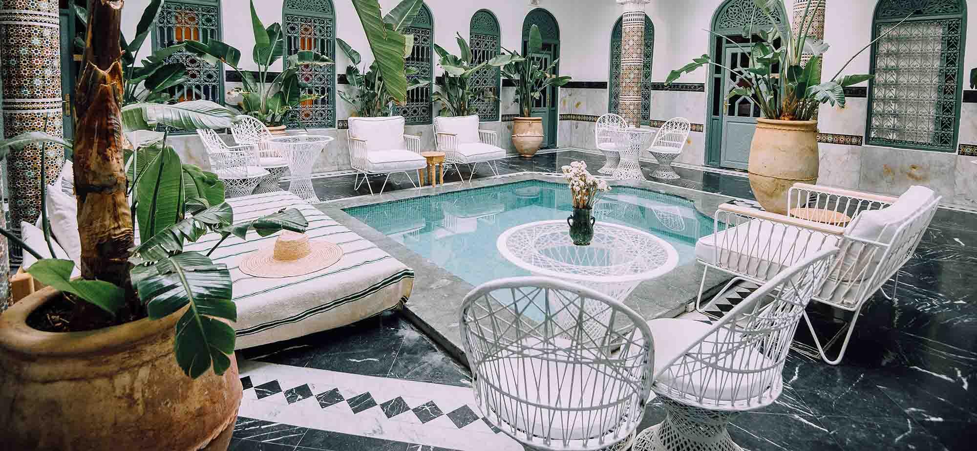 KSAR KASBAH & SPA MARRAKECH soleil piscine